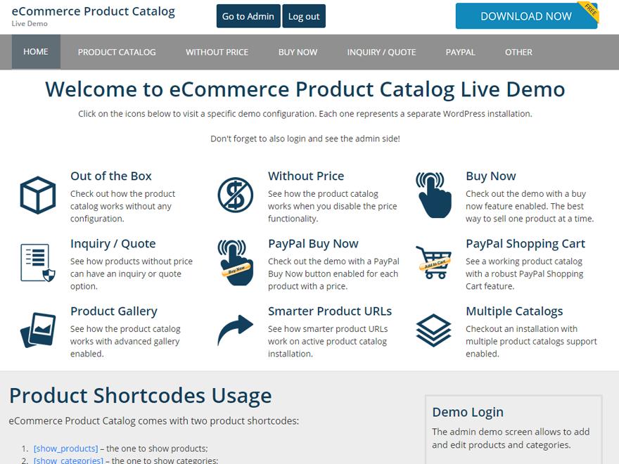 Catalog Me! – Responsive Product Theme