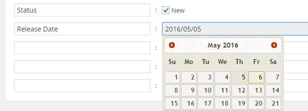 Date Attribute Assignment