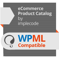 eCommerce Product Catalog WPML Compatible
