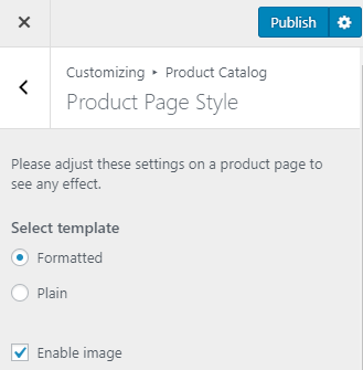 Activation Guide Product Page Customization